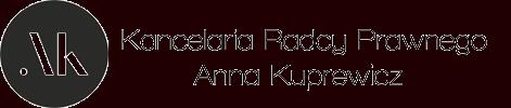 Prawnik Anna Kuprewicz